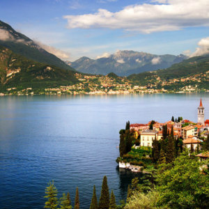 Soak up the sun at Lake Como