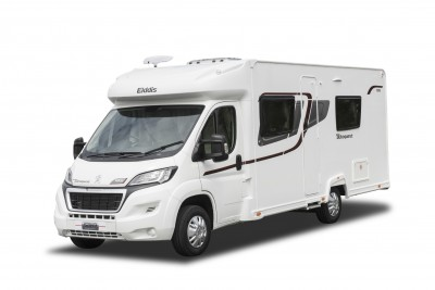 The Meeks now travel in an Elddis Autoquest